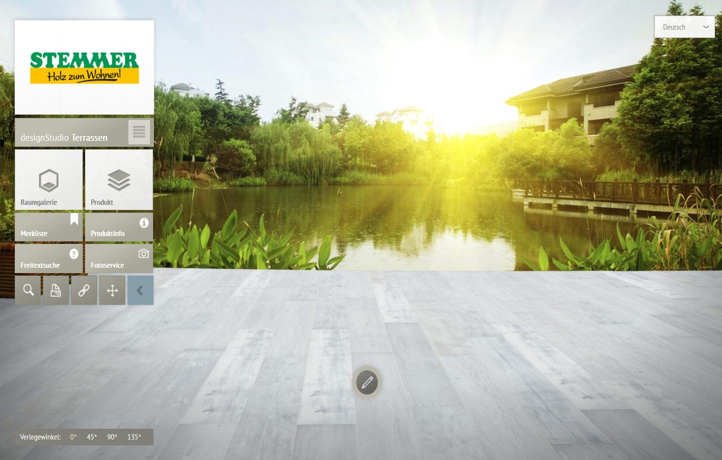 terrasse holzboden trendy aus holz farbig streichen u dielen mit lack oder lasur zum neuen. Black Bedroom Furniture Sets. Home Design Ideas